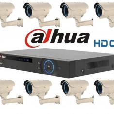 Kit Supraveghere Video 1.3Megapixel Exterior HD-CVI Dahua