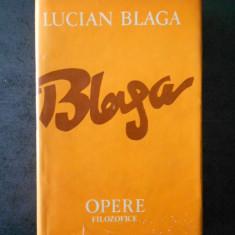 LUCIAN BLAGA - OPERE volumul 9  OPERE FILOZOFICE. TRILOGIA CULTURII