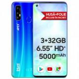 Smartphone iHunt S20 Ultra Apex 2021, Dual Sim, 6.55 Inch HD+, MediaTek MTK6737V Quad Core, 3 GB RAM, 32 GB Flash, 5000 mAh, Android 10, Albastru