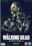 Film Serial The Walking Dead DVD BoxSet Seasons 1-8, Groaza, Engleza, indies