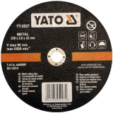 Disc debitat metal 230 x 2 x 22 mm Yato YT-5927