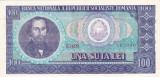 ROMANIA RSR 100 lei 1966  XF