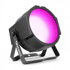 Beamz BS271F FLAT PAR, reflector led, 271 lumini led rgb smd, mod dmx sau regim automat, display led