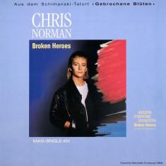Chris Norman - Broken Heroes 1988, Hansa disc vinil Maxi Single