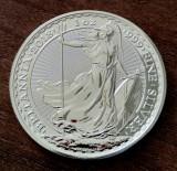 MAREA BRITANIE - 2 Pounds Lire 2018 - Britannia uncie argint 31.1 gr. - 999/1000