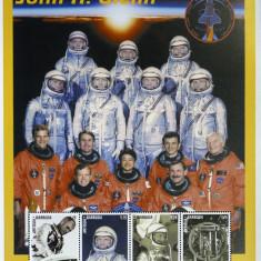 Antigua&Barbuda-John H.Glenn-Cosmonautica-1 M/Sh. NEOBLIT.** -CW261