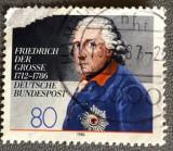 "Germania Regele ""Frederick cel Mare"" de Anton Graff, Istorie, Stampilat"