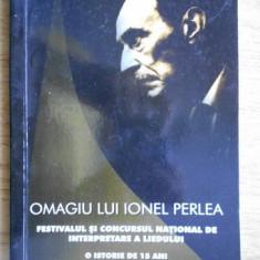 Omagiu lui Ionel Perlea