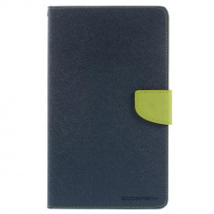 Husa Samsung Galaxy Tab S 8.4 inch T700 - Book Type Magnetic Bleumarin