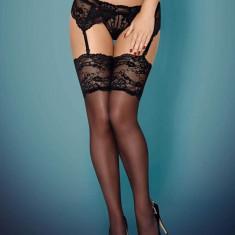 Ciorapi Sexy Cu Dantela, Negru, S/M