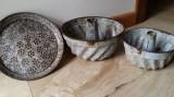 Vase rustice emailate de bucatarie