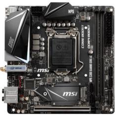 Placa de baza MSI MPG Z390I GAMING EDGE AC, Intel Z390, LGA 1151, DDR4, mini-ITX