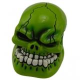 Cumpara ieftin Maner nuca schimbator viteza Monster Head rosu verde masina tunning auto +CADOU!