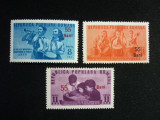 Romania, LP. 305 1952 Pionieri 1950 supratipar MNH, Nestampilat