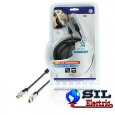 Cablu USB, 2.5M; HQ