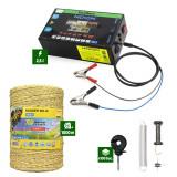 Pachet Gard Electric 2,5J putere + 1000m Fir cu 3 lițe