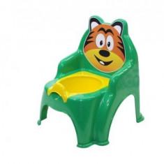 Olita pentru copii Doloni cu tigru, verde inchis