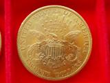 "MONEDA AUR 20 Dollars ""Liberty Head - Double Eagle"" 1896  S, America Centrala si de Sud"