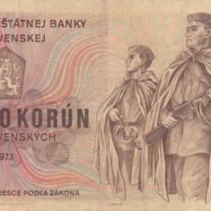 Cehoslovacia  500 korun 1973  P.93 VF