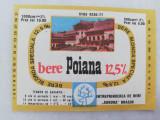 Eticheta Bere - POIANA - Brasov .