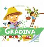 Gradina. Enciclopedia celor mici. Contine un puzzle si abtibilduri/***