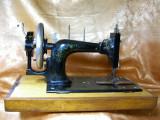 Masina cusut antica sec 19 Germania raritate colectie vintage Frister&Rossmann