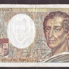 Franta 1990 - 200 francs, circulata