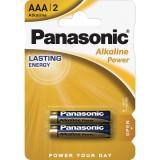 Baterii Panasonic Alkaline Power Bronze LR03/AAA 2 bucati