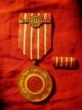 Medalie 50 Ani PCR , cu insemn si etui