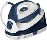 Cumpara ieftin Statie de calcat TEFAL Fasteo SV6040E0, 1.2l, 130g/min, 2200W, talpa ceramica (Albastru)