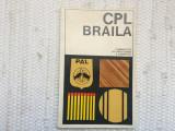 catalog CPL Braila combinatul de prelucrare a lemnului prezentare produse RSR