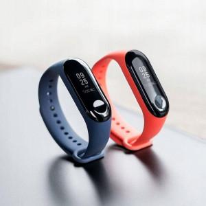 Curea silicon Tech-Protect Smooth Xiaomi Mi Band 3/4 Navy Blue