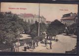 GIURGIU  PIATA CAROL   OFITERI  ANIMATIE  TRASURA CIRCULATA 1908