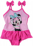 Costum de baie cu volane Disney Minnie Mouse, Roz