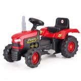 Tractor cu pedale dotat cu volan usor de manevrat, 52 x 43 x 83 cm, maxim 35 kg