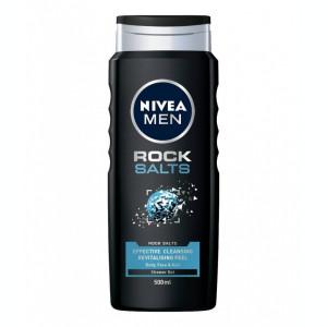 Nivea Gel de dus Barbati 500 ml Rock Salts