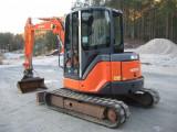 Se vinde rapid : Mini excavator Hitachi ZX50U . Anul : 2006. 3200€
