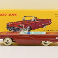 Macheta FORD THUNDERBIRD CABRIOLET - Dinky Toys