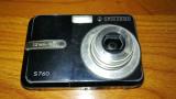 Cumpara ieftin Camera foto digitala SAMSUNG S760 (7,2 MP) obiectiv blocat de nisip
