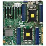 Supermicro Motherboard MBD-X11DPH-I 2xLGA 3647 Intel C621 16xDDR4 2x1GbE LAN 10xSATA3 (6Gbps) RAID 0 1 5 10 7xUSB 3.0 1xVGA 1xCOM 3xPCI-E 3.