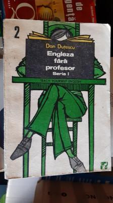 Engleza Fara Profesor  Vol. 2 - Dan Dutescu foto