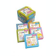 Primele mele carti educative - cutie 5 carti