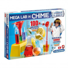 Set educativ stiintific Laboratorul de Chimie Clementoni, 8 ani+