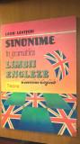 Leon Levitchi - Sinonime in gramatica limbii engleze (Editura Teora, 1994)