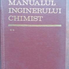 Manualul inginerului chimist vol 2- Dumitru Sandulescu