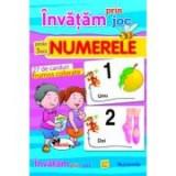 Invatam prin joc numerele + 3ani. Carti de joc educative