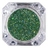 Cumpara ieftin Sclipici Glitter Unghii Pulbere LUXORISE, Forest Green #08