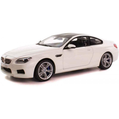 Miniatura BMW Seria 6 Coupe F13M Alpine White 1:18 foto