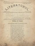 Revista Literatorul - A. Macedonski - 1885 an 4 numar 1