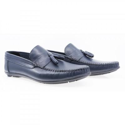 Pantofi barbati Caspian din piele naturala Cas-690-LACI foto
